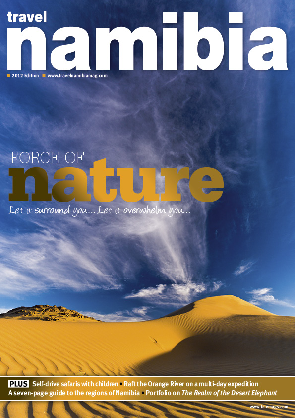 Travel Namibia cover